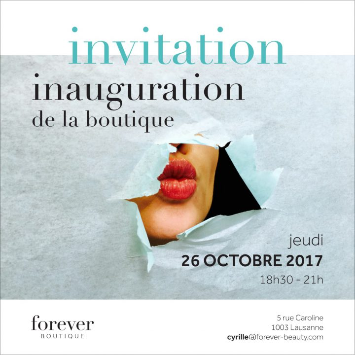 Forever Boutique Invitation Soiree Inauguration 261017 1