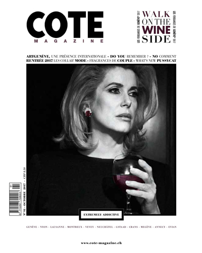 cote magazine octobre 2017 couv