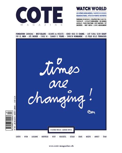 cote magazine juillet 2018 couv