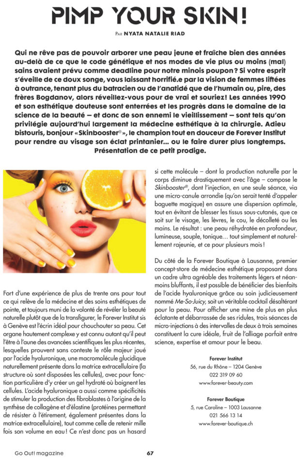 Go out septembre2018 article1